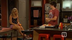 Georgia Brooks, Chris Pappas in Neighbours Episode 6907