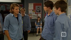 Jayden Warley, Ben Kirk, Bailey Turner in Neighbours Episode 6908