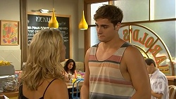 Georgia Brooks, Kyle Canning in Neighbours Episode 6908