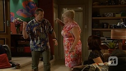 Toadie Rebecchi, Sheila Canning, Naomi Canning in Neighbours Episode 6909