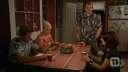 Matt Turner, Sheila Canning, Toadie Rebecchi, Naomi Canning in Neighbours Episode 6909