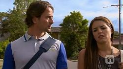 Brad Willis, Paige Novak in Neighbours Episode 6910