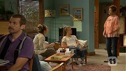 Toadie Rebecchi, Sonya Mitchell, Josie Lamb, Susan Kennedy in Neighbours Episode 6910