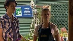 Ben Kirk, Josie Lamb in Neighbours Episode 6910