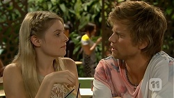 Amber Turner, Daniel Robinson in Neighbours Episode 6910