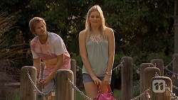 Daniel Robinson, Amber Turner in Neighbours Episode 6910