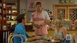 Josh Willis, Daniel Robinson, Amber Turner in Neighbours Episode 6911