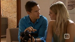 Josh Willis, Amber Turner in Neighbours Episode 6911