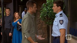 Paul Robinson, Terese Willis, Mark Brennan, Matt Turner in Neighbours Episode 6912