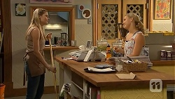 Amber Turner, Georgia Brooks in Neighbours Episode 6914