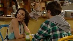 Libby Kennedy, Ben Kirk in Neighbours Episode 6914