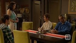 Ben Kirk, Libby Kennedy, Susan Kennedy, Karl Kennedy in Neighbours Episode 6914