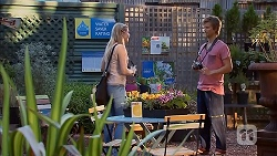 Amber Turner, Daniel Robinson in Neighbours Episode 6914