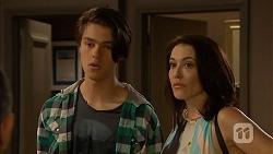 Ben Kirk, Libby Kennedy in Neighbours Episode 6914