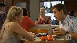 Amber Turner, Imogen Willis, Sheila Canning, Josh Willis in Neighbours Episode 6914