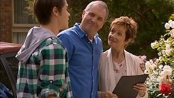 Ben Kirk, Karl Kennedy, Susan Kennedy in Neighbours Episode 6914