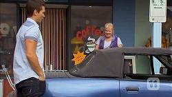 Josh Willis, Sheila Canning in Neighbours Episode 6914