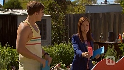 Kyle Canning, Amanda Lim in Neighbours Episode 6915