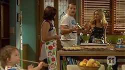 Nell Rebecchi, Naomi Canning, Toadie Rebecchi, Georgia Brooks in Neighbours Episode 6915