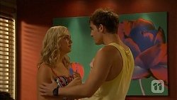 Georgia Brooks, Kyle Canning in Neighbours Episode 6915