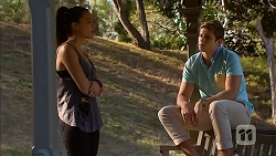 Paige Novak, Ethan Smith in Neighbours Episode 6916