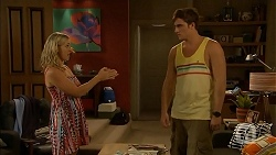 Georgia Brooks, Kyle Canning in Neighbours Episode 6916