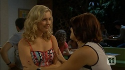 Georgia Brooks, Naomi Canning in Neighbours Episode 6917