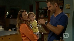 Sonya Rebecchi, Nell Rebecchi, Mark Brennan in Neighbours Episode 6917