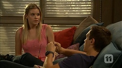 Amber Turner, Josh Willis in Neighbours Episode 6917