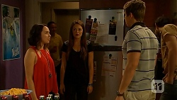 Imogen Willis, Paige Novak, Ethan Smith in Neighbours Episode 6917