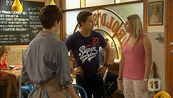 Bailey Turner, Josh Willis, Amber Turner in Neighbours Episode 6917
