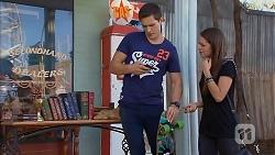 Josh Willis, Paige Novak in Neighbours Episode 6918