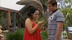 Imogen Willis, Ethan Smith in Neighbours Episode 6918
