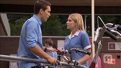 Josh Willis, Amber Turner in Neighbours Episode 6918