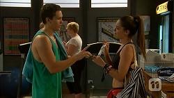 Josh Willis, Paige Novak in Neighbours Episode 6919