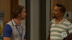 Brad Willis, Ricky Masters in Neighbours Episode 6919