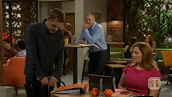Paul Robinson, Karl Kennedy, Terese Willis in Neighbours Episode 6920
