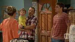 Sonya Mitchell, Nell Rebecchi, Toadie Rebecchi, Kyle Canning, Georgia Brooks in Neighbours Episode 6921