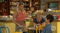Amber Turner, Bailey Turner in Neighbours Episode 6921