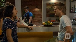 Imogen Willis, Daniel Robinson in Neighbours Episode 6921
