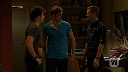Chris Pappas, Kyle Canning, Mark Brennan in Neighbours Episode 6922
