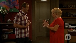 Toadie Rebecchi, Sheila Canning in Neighbours Episode 6922