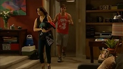 Naomi Canning, Kyle Canning in Neighbours Episode 6923