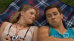 Amber Turner, Josh Willis in Neighbours Episode 6923