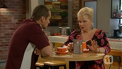 Toadie Rebecchi, Sheila Canning in Neighbours Episode 6924