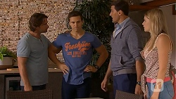 Brad Willis, Josh Willis, Matt Turner, Amber Turner in Neighbours Episode 6925