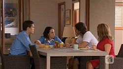 Josh Willis, Imogen Willis, Brad Willis, Terese Willis in Neighbours Episode 6926