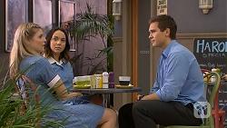 Amber Turner, Imogen Willis, Josh Willis in Neighbours Episode 6926