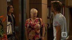 Naomi Canning, Sheila Canning, Daniel Robinson in Neighbours Episode 6927