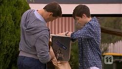 Matt Turner, Bailey Turner in Neighbours Episode 6928